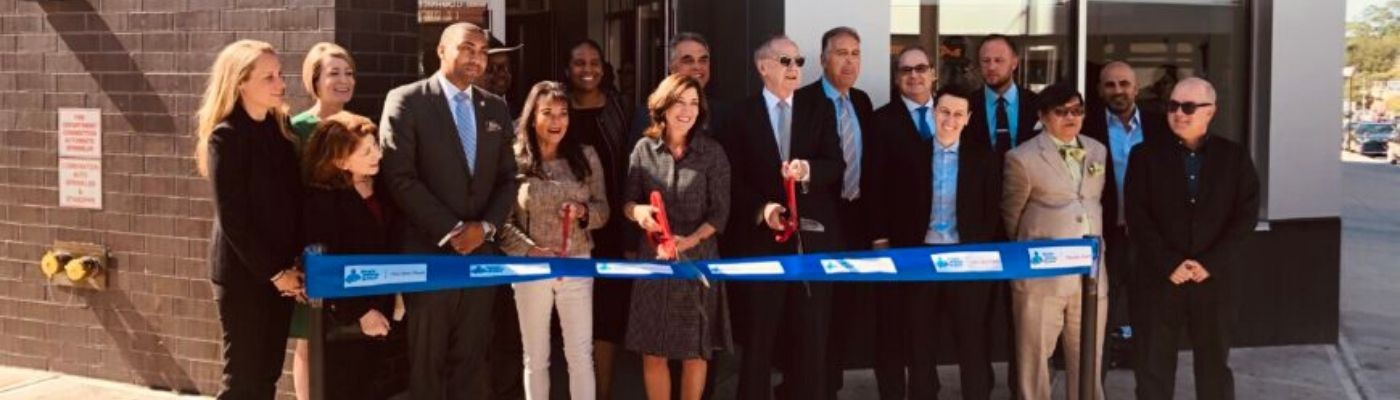 The Doe Fund Celebrates Ribbon-Cutting for Webster Green image