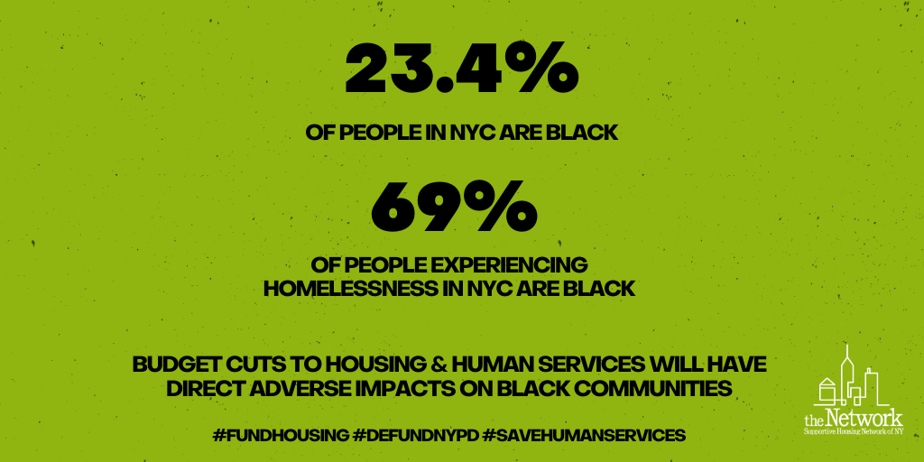 DEFUND THE NYPD, SAVE HOUSING & HUMAN SERVICES image